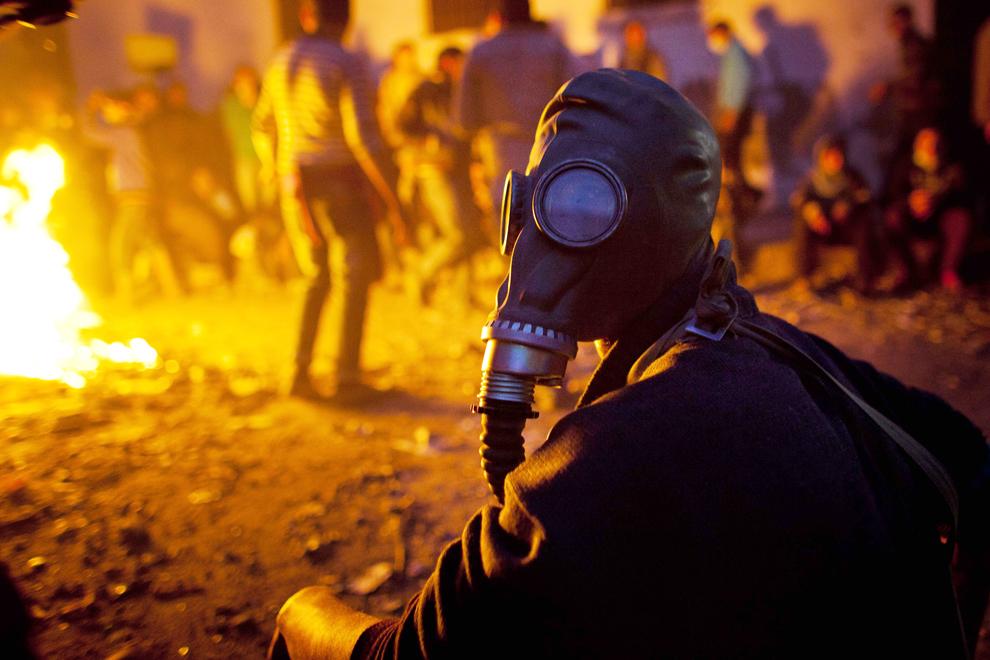 bp110 Египет: акции протеста после инцидента на футболе в Порт Саиде