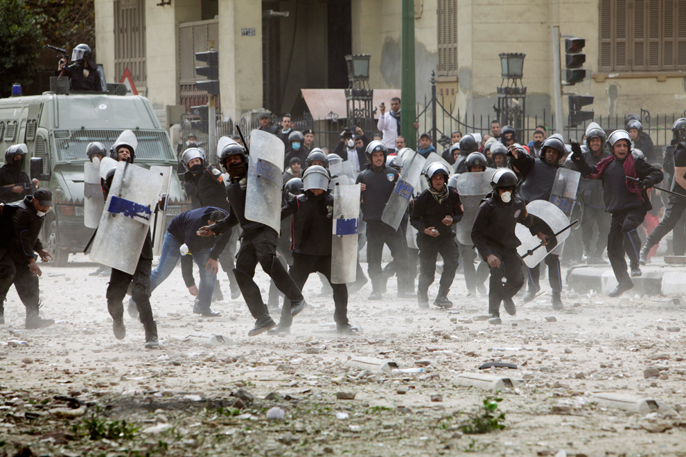 bp112 Египет: акции протеста после инцидента на футболе в Порт Саиде
