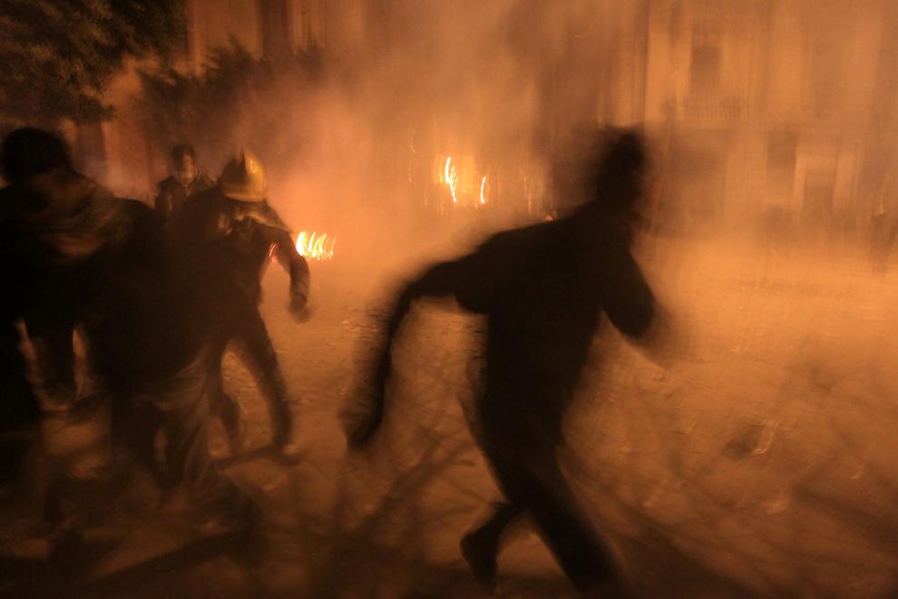 bp161 Египет: акции протеста после инцидента на футболе в Порт Саиде