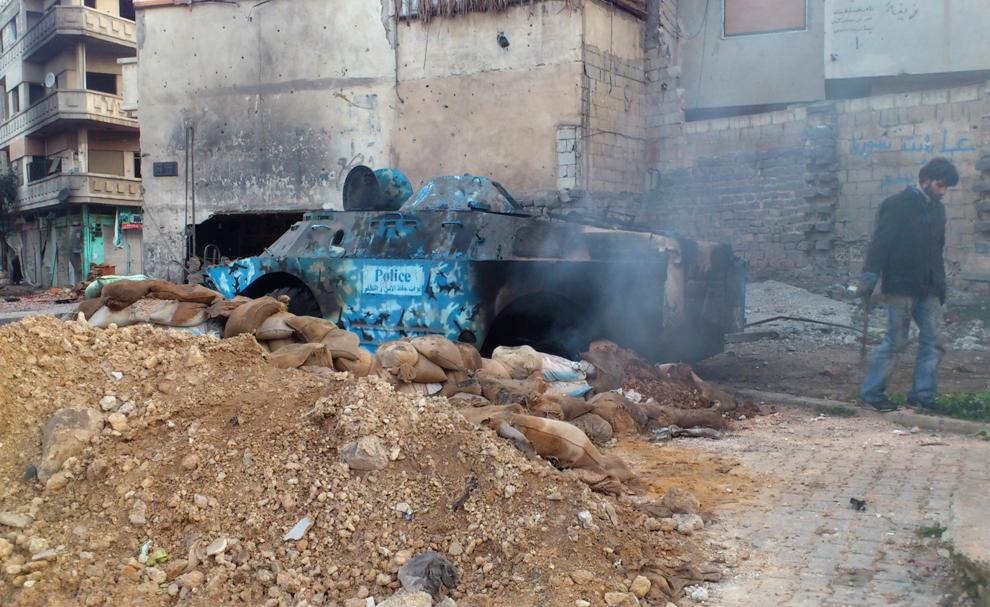 bp162 Война в Сирии