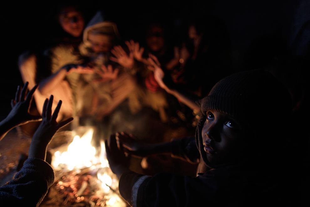 bp166 Жители трущоб в разных странах мира