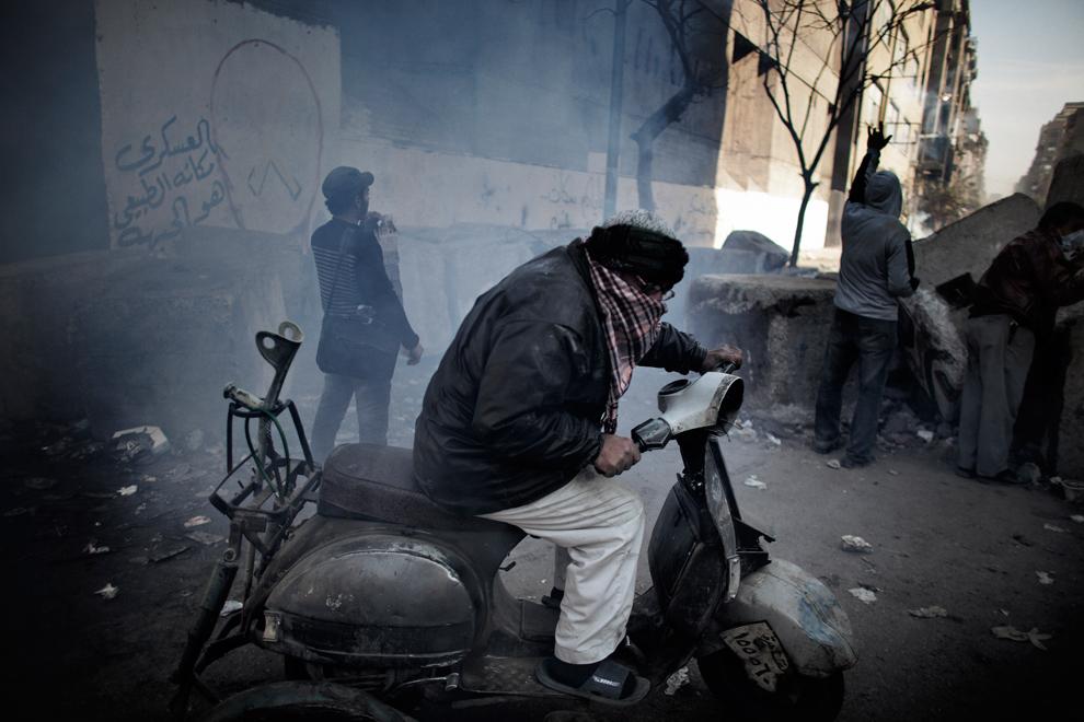 bp201 Египет: акции протеста после инцидента на футболе в Порт Саиде