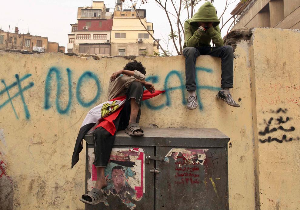 bp222 Египет: акции протеста после инцидента на футболе в Порт Саиде