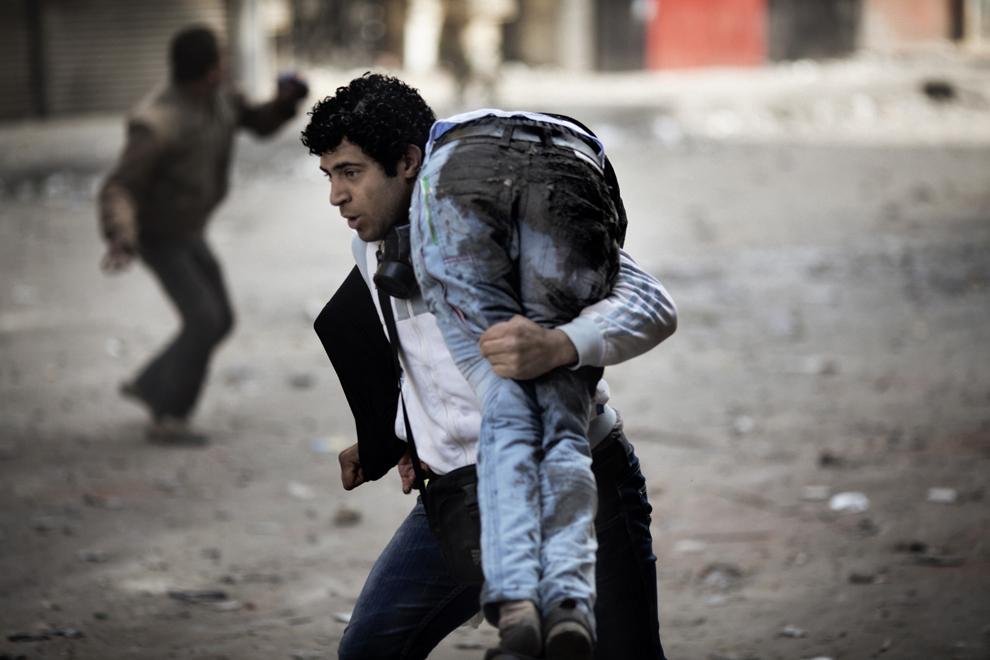 bp232 Египет: акции протеста после инцидента на футболе в Порт Саиде
