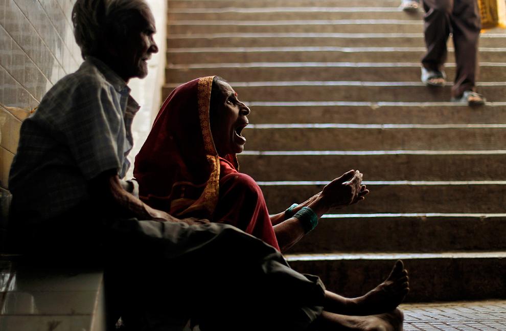 bp236 Жители трущоб в разных странах мира