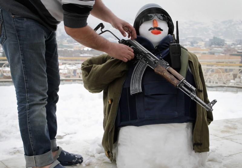Афганистан: январь 2012