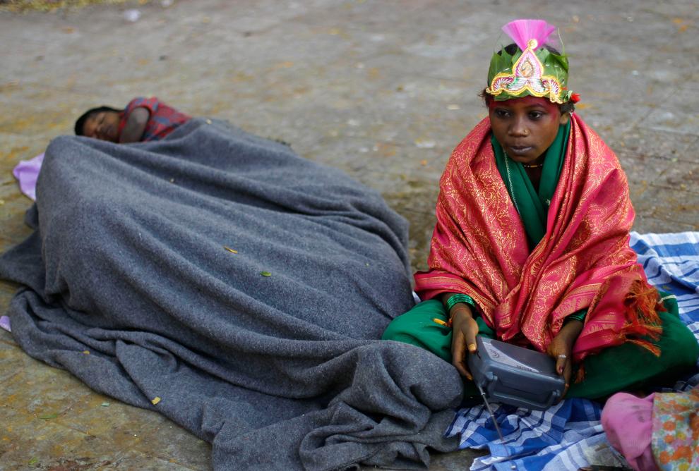 bp274 Жители трущоб в разных странах мира