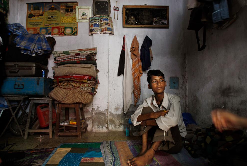 bp304 Жители трущоб в разных странах мира
