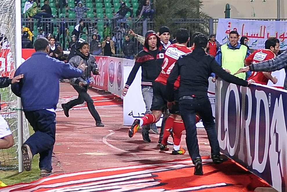 bp310 Египет: акции протеста после инцидента на футболе в Порт Саиде