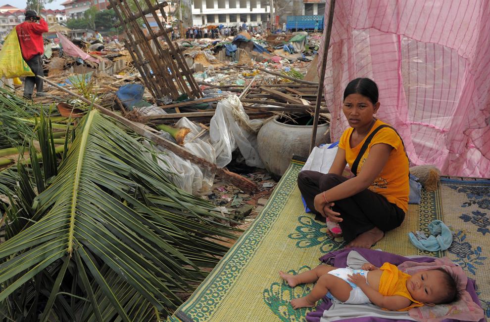 bp318 Жители трущоб в разных странах мира