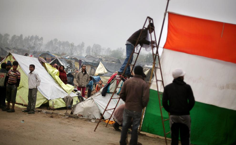 bp319 Жители трущоб в разных странах мира