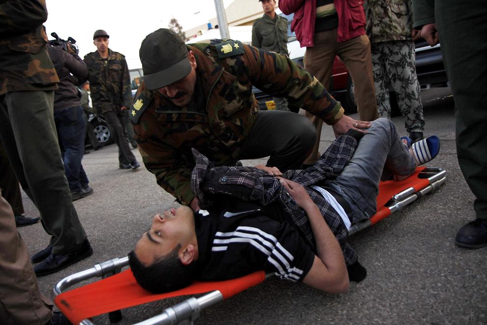 bp46 Египет: акции протеста после инцидента на футболе в Порт Саиде
