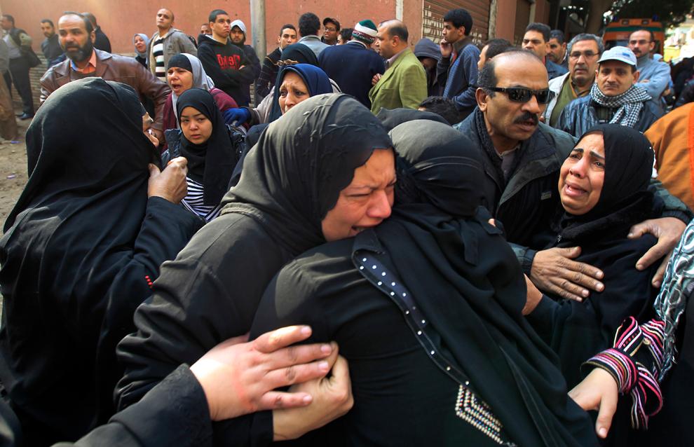 bp51 Египет: акции протеста после инцидента на футболе в Порт Саиде