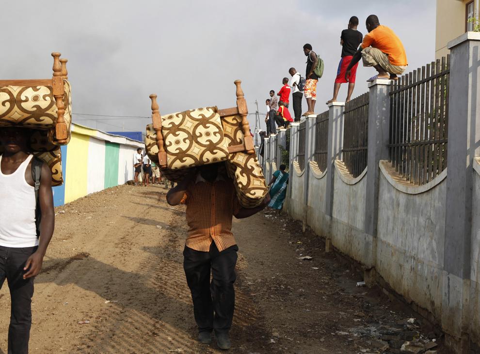 bp521 Жители трущоб в разных странах мира