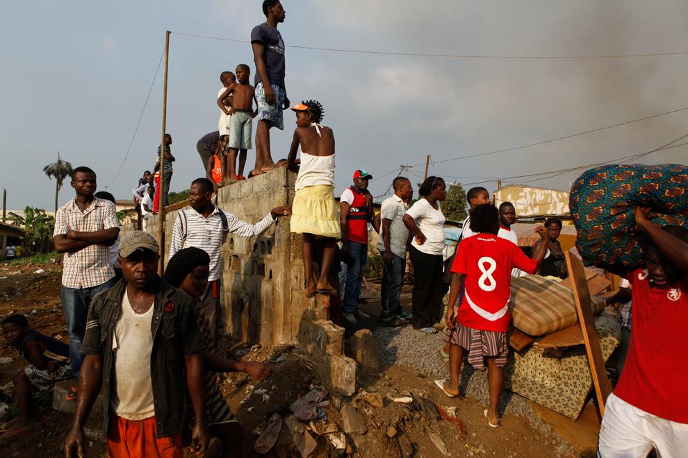 bp541 Жители трущоб в разных странах мира