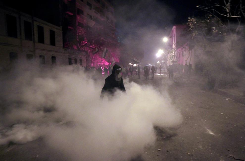 bp71 Египет: акции протеста после инцидента на футболе в Порт Саиде