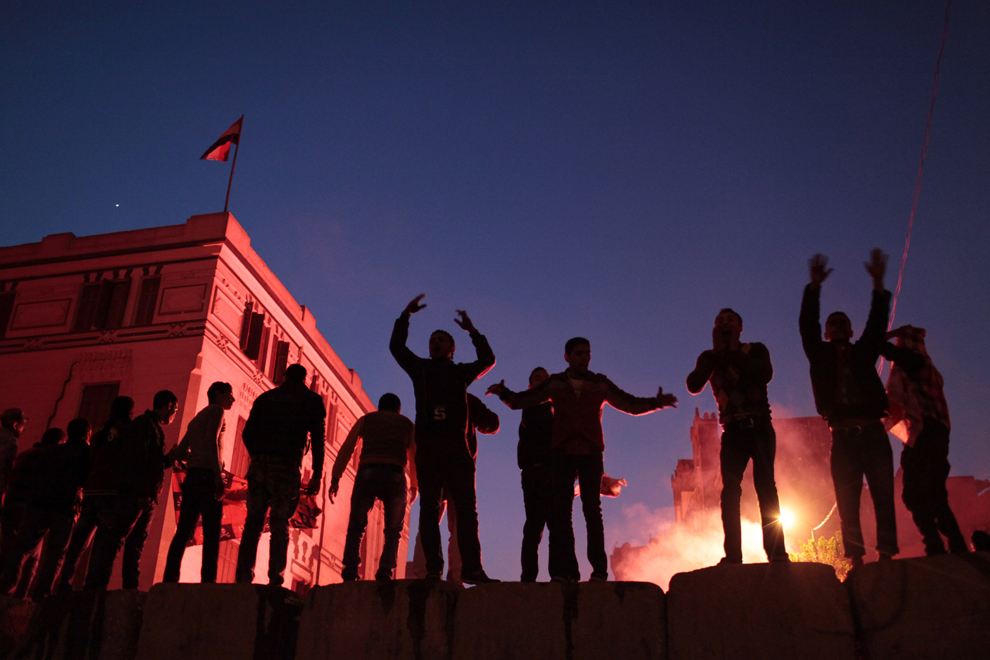bp91 Египет: акции протеста после инцидента на футболе в Порт Саиде