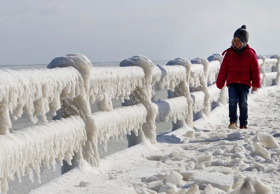 freeze13 Черное море впервые за 30 лет покрылось льдом