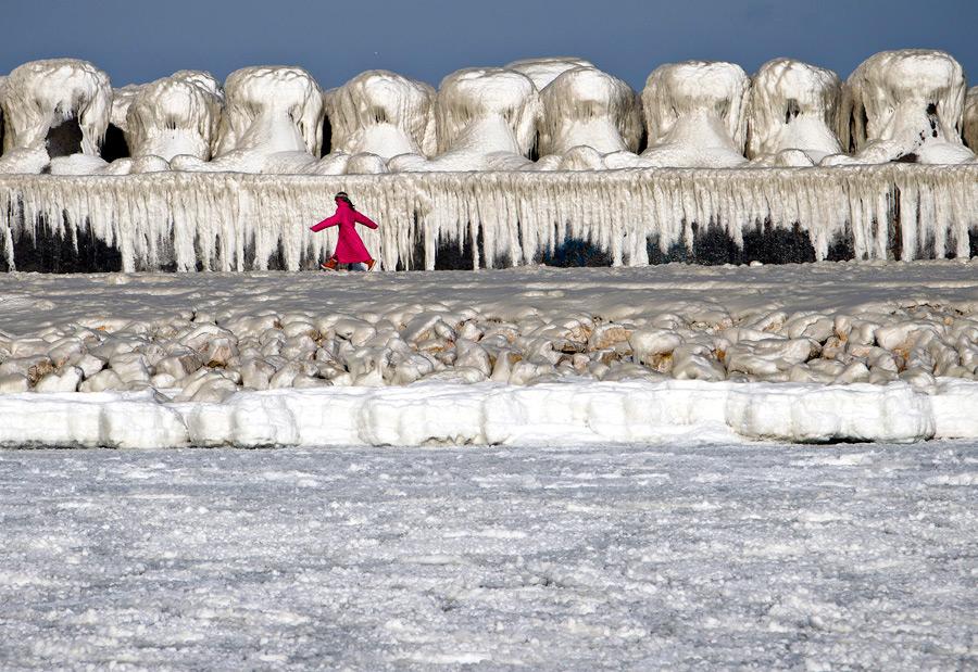 freeze18 Черное море впервые за 30 лет покрылось льдом