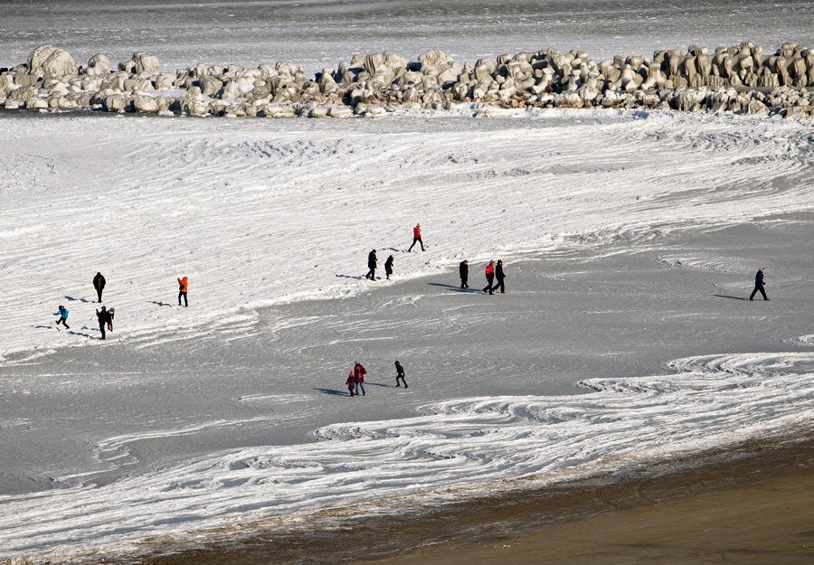 freeze21 Черное море впервые за 30 лет покрылось льдом