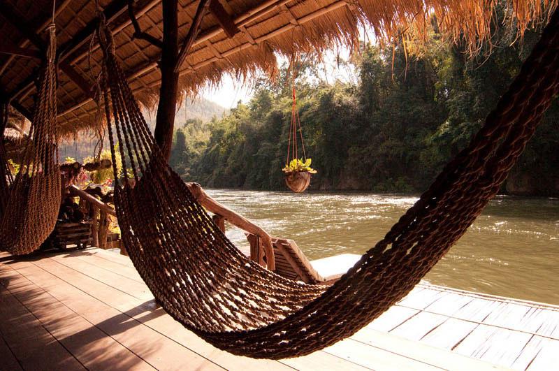 hammock02 25 мест идеальных для того, чтобы полежать в гамаке