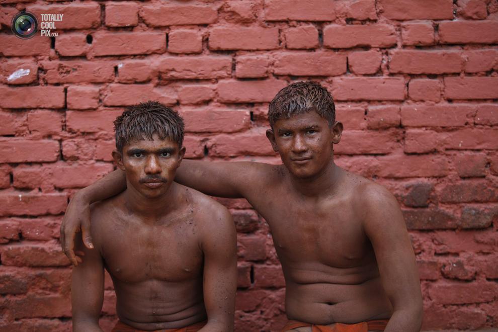 mudwrestling 001 Кушти   древнее индийское искусство борьбы