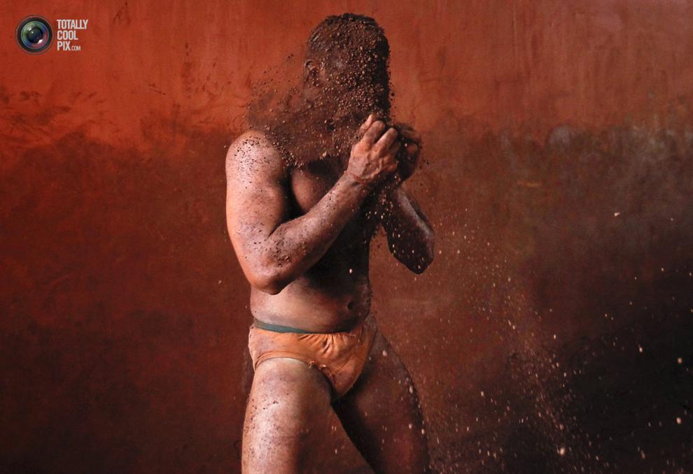 mudwrestling 002 Кушти   древнее индийское искусство борьбы