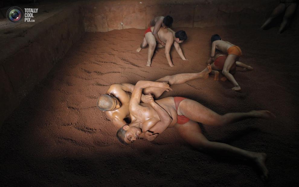 mudwrestling 004 Кушти   древнее индийское искусство борьбы