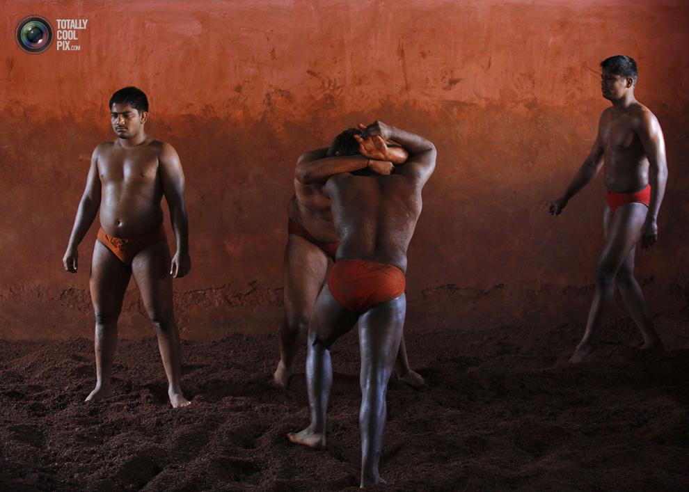 mudwrestling 009 Кушти   древнее индийское искусство борьбы