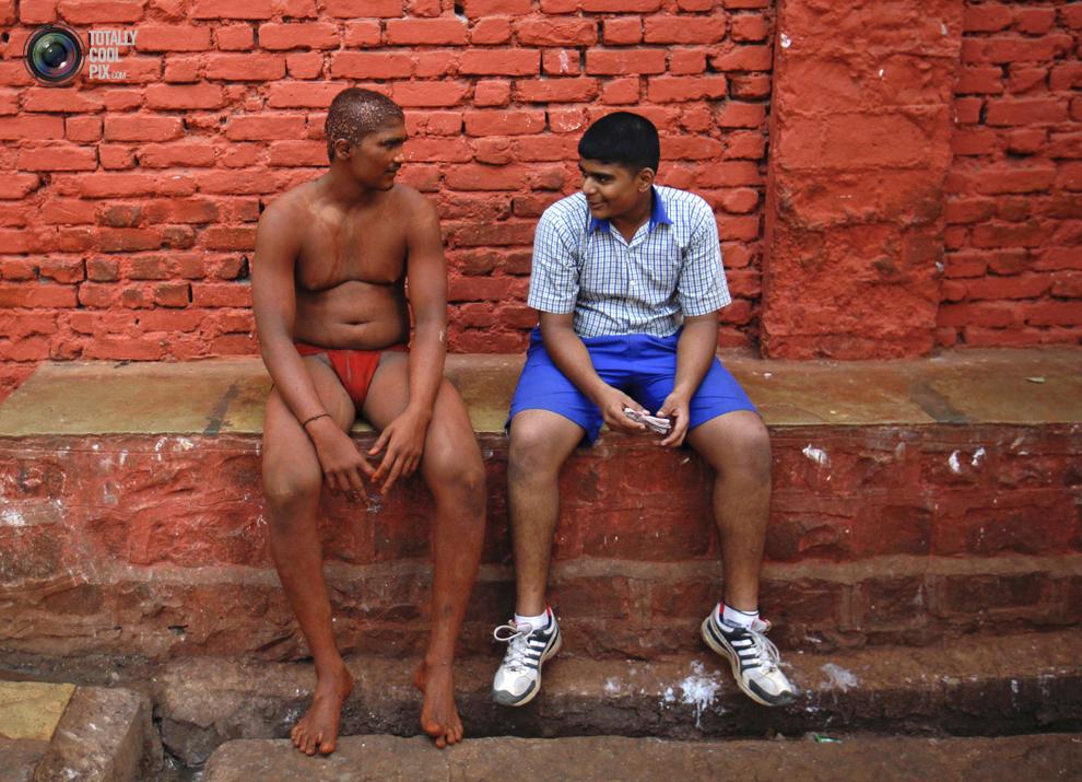 mudwrestling 010 Кушти   древнее индийское искусство борьбы