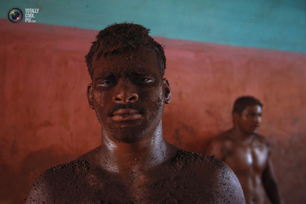 mudwrestling 011 Кушти   древнее индийское искусство борьбы
