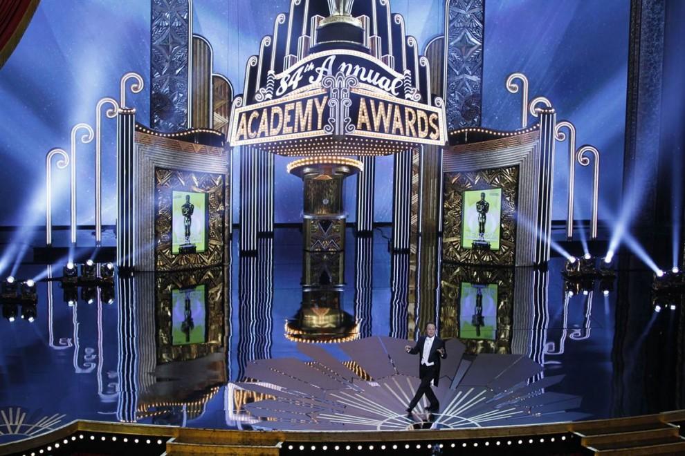oscar201201 990x660 Церемония вручения премии американской киноакадемии Оскар 2012