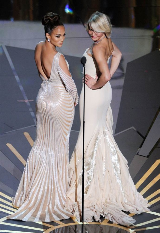 Церемония вручения премии американской киноакадемии Оскар 2012 (20 фото)