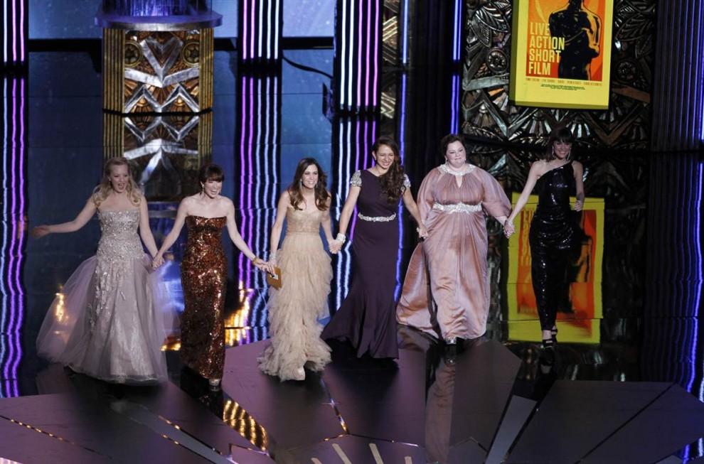 oscar201210 990x653 Церемония вручения премии американской киноакадемии Оскар 2012