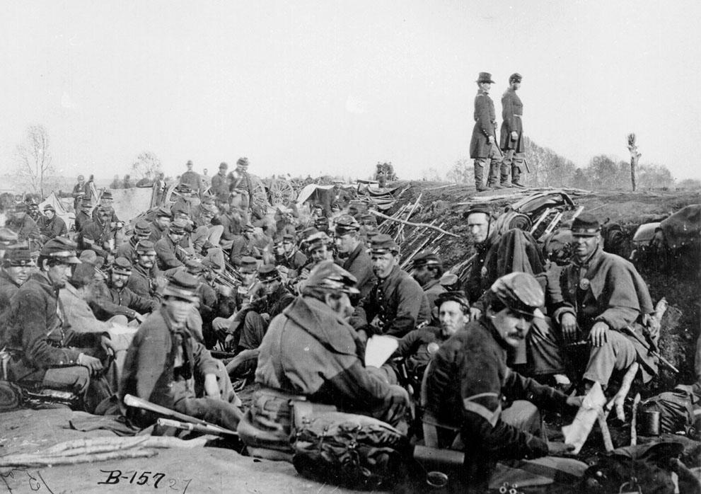s c28 trenches Гражданская война в США   люди (Часть 2)