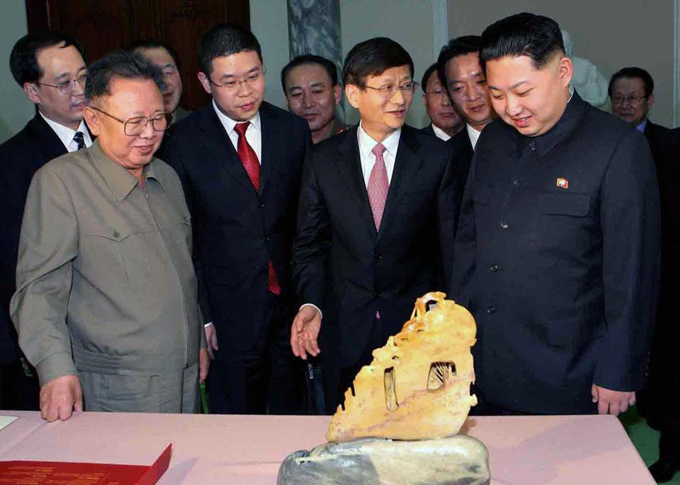 s k03 12173501 Ким Чен Ын   по стопам отца