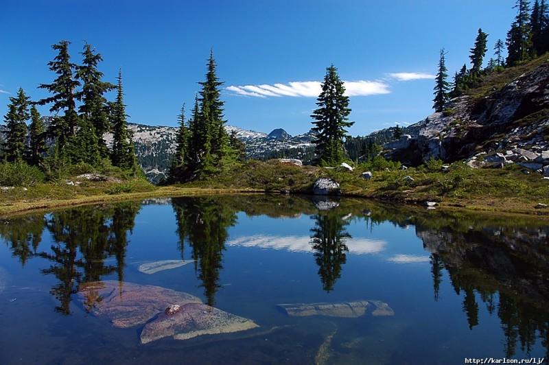 0018 800x532 США: Озера и водопады долины реки Фосс