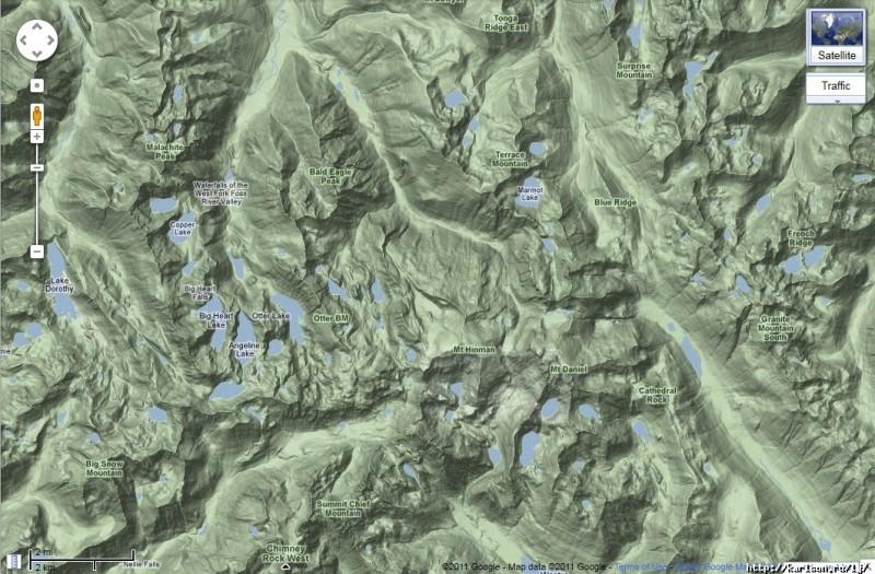00211 800x525 США: Озера и водопады долины реки Фосс