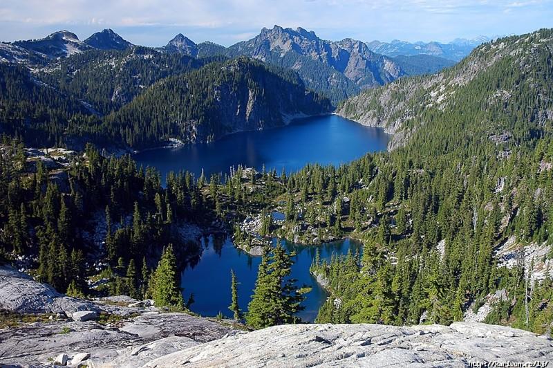 0159 800x532 США: Озера и водопады долины реки Фосс