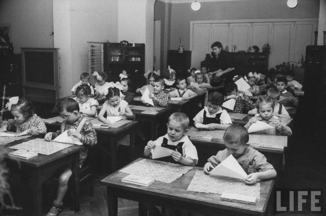 03135109901d Жизнь советского детского сада в 1960 году глазами фотографа Life