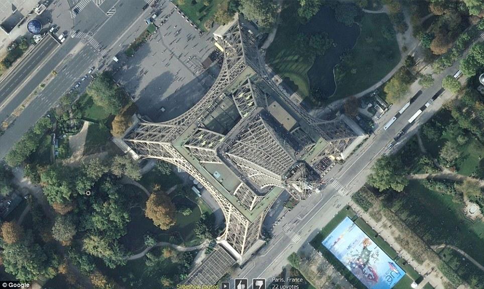 0 7f572  Топ 10 удивительных снимков с Google Earth