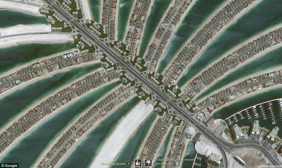 0 7f573  Топ 10 удивительных снимков с Google Earth