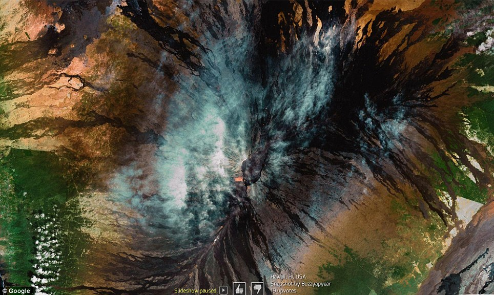 0 7f576  Топ 10 удивительных снимков с Google Earth