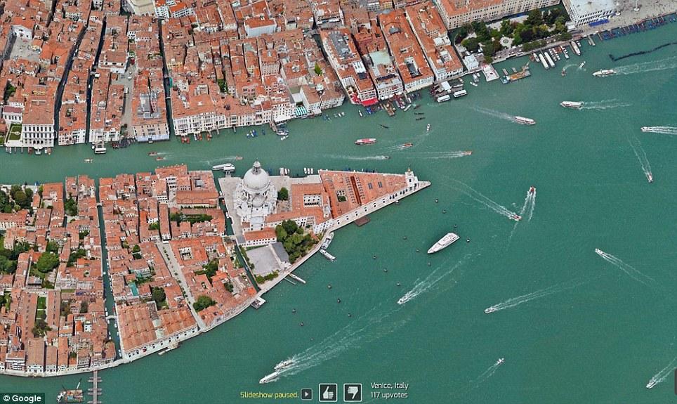 0 7f577  Топ 10 удивительных снимков с Google Earth
