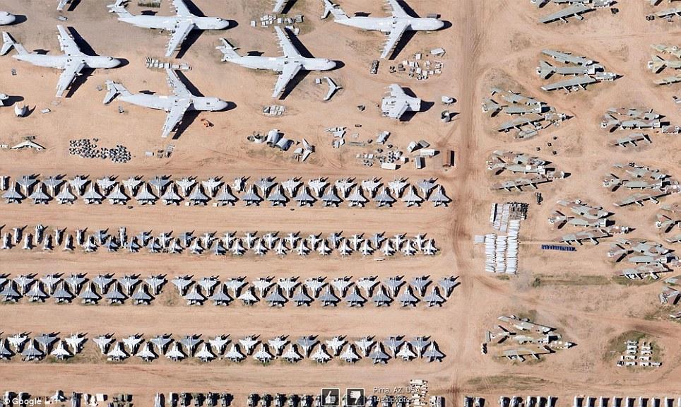 0 7f579  Топ 10 удивительных снимков с Google Earth