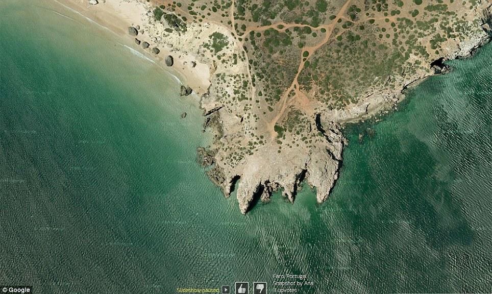 0 7f57a  Топ 10 удивительных снимков с Google Earth