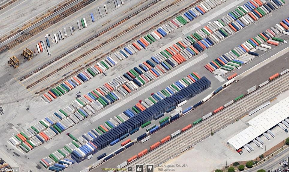 0 7f57b  Топ 10 удивительных снимков с Google Earth