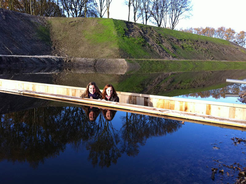 Невидимый мост.... мост,Голландия,ландшафт
