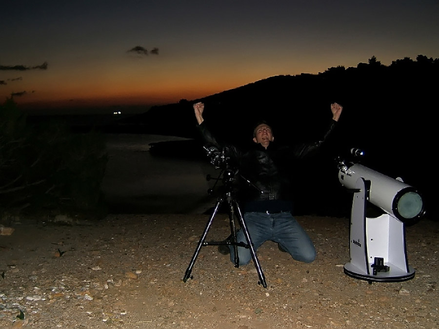 0 80757  Небо Греции в астрофотографиях Криса Коциопулоса