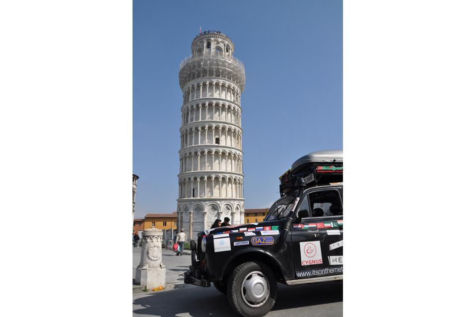 10120 Вокруг света на черном лондонском такси